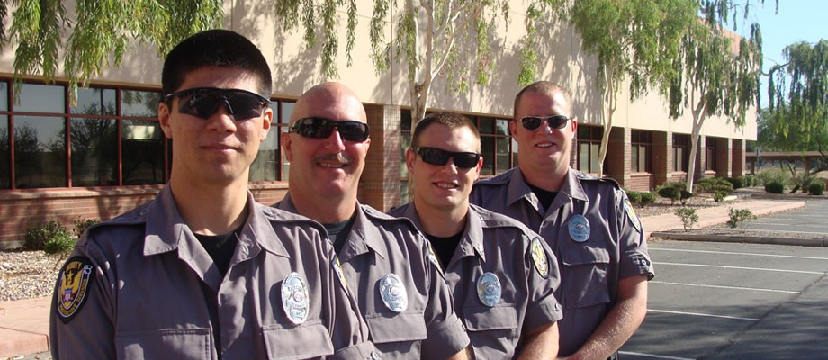 Arizona's Security Team